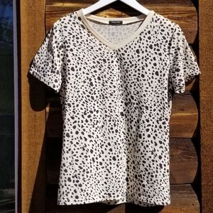 Blooming Jelly Animal Print Tee